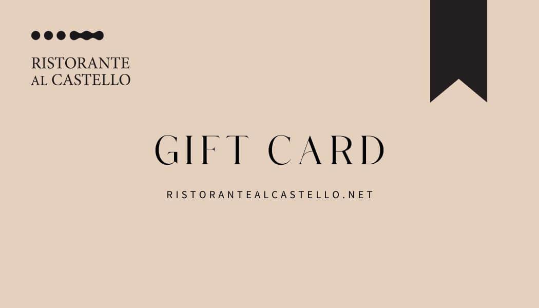 E-gift card Ristorante al Castello